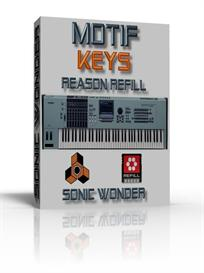 Yamaha Motif Keys   - Reason Refill - | Music | Soundbanks