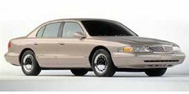 1997 Lincoln Continental MVMA Specifications | eBooks | Automotive