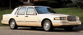 1997 Lincoln Town Car MVMA Specifications | eBooks | Automotive
