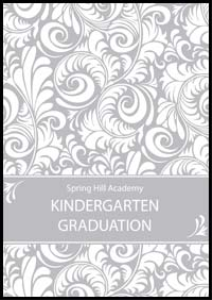 2015 spring hill christian academy kindergarten graduation