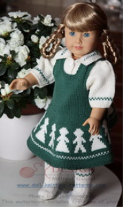 DollKnittingPattern 0012D KARI - Skirt, Blouse, Socks and Pant-(English)   Crafting   Knitting   Baby and Child