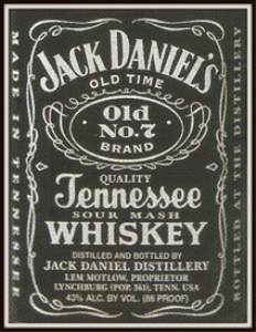 jack daniel's whiskey magazine ads package