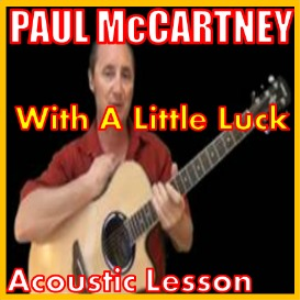 Learn to play With A Little Luck by Wings | Movies and Videos | Educational