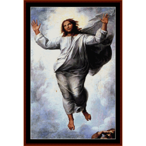 The Transfiguration - Raphael cross stitch pattern by Cross Stitch Collectibles | Crafting | Cross-Stitch | Wall Hangings