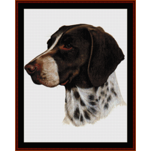 Pointer - Robt. J. May cross stitch pattern by Cross Stitch Collectibles | Crafting | Cross-Stitch | Wall Hangings