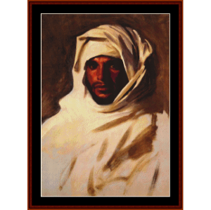 Bedouin Arab - Sargent cross stitch pattern by Cross Stitch Collectibles | Crafting | Cross-Stitch | Other