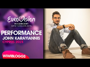 john karayiannis - one thing i should have done (cyprus) 2015 eurovision
