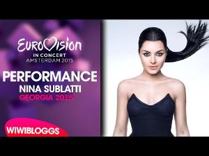 nina sublatti - warrior (georgia) 2015 eurovision