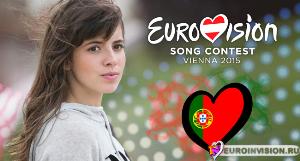 leonor andrade - há um mar que nos separa (portugal) 2015 eurovision