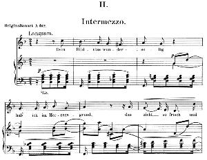Intermezzo Op. 39 No.2,Low Voice in F Major, R. Schumann. C.F. Peters.   eBooks   Sheet Music