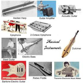 Vintage Musical Instruments Plans | Music | Miscellaneous