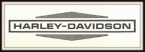 harley-davidson motorcycles magazine ads package