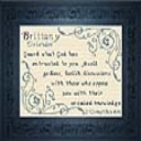 Name Blessings -  Brittany 2 | Crafting | Cross-Stitch | Religious
