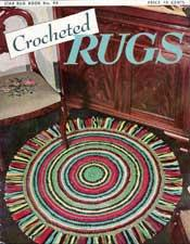 Crocheted Rugs - Adobe .pdf Format