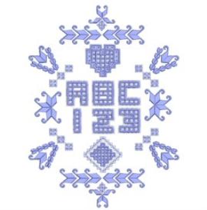 Hardangish Alphabet - VP3 | Crafting | Embroidery