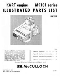 McCulloch MC101 Go-Kart Engine Parts Manual | eBooks | Technical