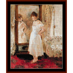 Psyche - Morisot cross stitch pattern by Cross Stitch Collectibles | Crafting | Cross-Stitch | Wall Hangings