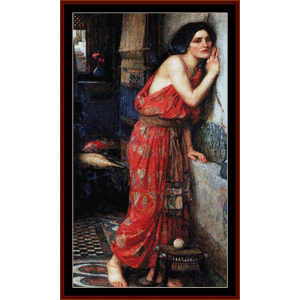 Thisbe - Waterhouse cross stitch pattern by Cross Stitch Collectibles | Crafting | Cross-Stitch | Other