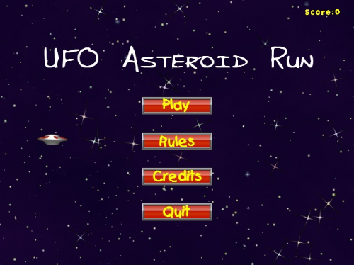 First Additional product image for - UFO Asteroid Run (Free)