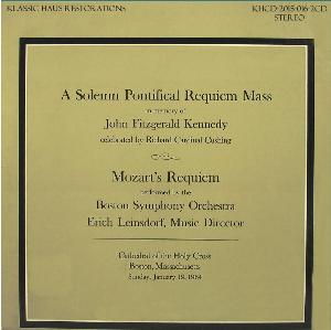 In Memorium - John Fitzgerald Kennedy (1917-1963) - Boston Symphony Orchestra/Erich Leinsdorf | Music | Classical