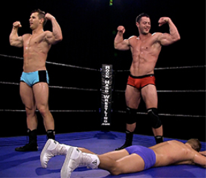 2303-Bruce Ballard & Dash Decker vs Colt Stevens & Tyson Matthews | Movies and Videos | Action