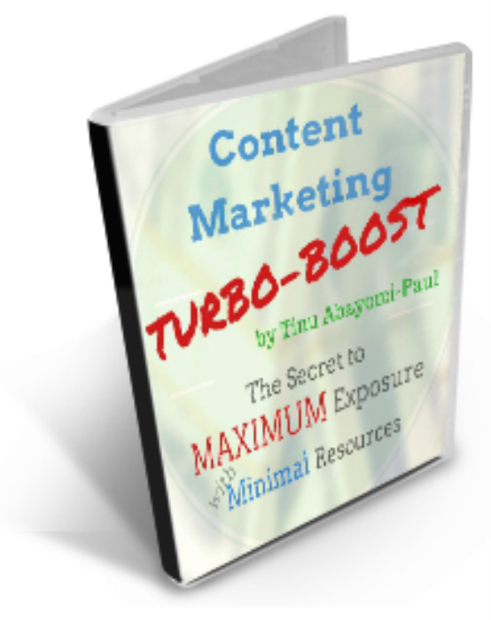 First Additional product image for - Content Marketing Turbo Boost