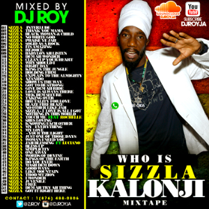 dj roy presents sizzla kalonji mixtape