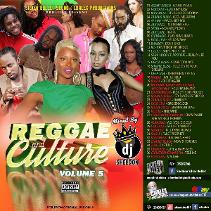 silver bullet sound  reggae and culture vol.5 2015 mixcd
