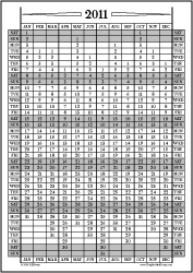 Jan11-Dec11: January-December Calendar, Fiscal Year, & Academic Year Calendar | Other Files | Documents and Forms