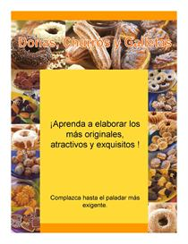Curso Practico para Hacer Donas, Churros y Galletas / Bakery Course in | eBooks | Arts and Crafts