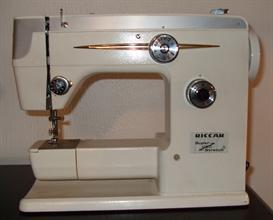 Riccar 555FA Sewing Machine Manual