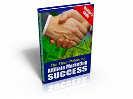the finer points to affiliate marketing success - mrr