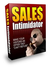 sales intimidator - make your visitors an offer they cant refuse