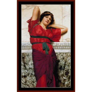 Contemplation - Godward cross stitch pattern by Cross Stitch Collectibles | Crafting | Cross-Stitch | Wall Hangings