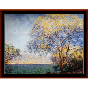 Antibes in the Morning - Monet cross stitch pattern by Cross Stitch Collectibles | Crafting | Cross-Stitch | Other