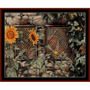 Behold The Wall - Tissot cross stitch pattern by Cross Stitch Collectibles | Crafting | Cross-Stitch | Wall Hangings