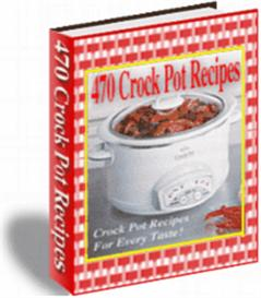 470 Crock Pot Recipes | eBooks | Food and Cooking