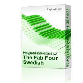 the fab four swedish concert 1964