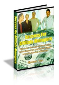 success for affiliate managers with master resale rights
