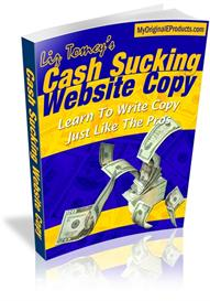 new!* cash sucking website copy  with master resale rights