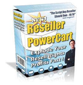Reseller Power Cart - Explode Your Resell Rights Profits Fast ! Master | Software | Business | Other