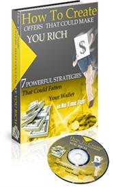 How To Create Offers That Could Make You Rich -With Master Resale Righ | eBooks | Business and Money