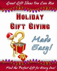 **NEW** Holiday Gift Giving Made Easy   With Master Resale Rights | eBooks | Internet