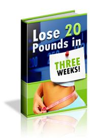 **NEW** Lose 20 Pounds In 3 Weeks With Master Resale Rights | eBooks | Health
