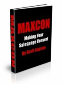 **NEW** MAXCON : Making Your Salespage Convert Master Resale Rights In | eBooks | Internet