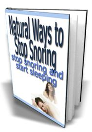 Natural Ways to Stop Snoring  With | eBooks | Health