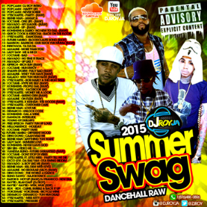 Dj Roy Summer Swag Raw Dancehall Kix 2015 | Music | Reggae
