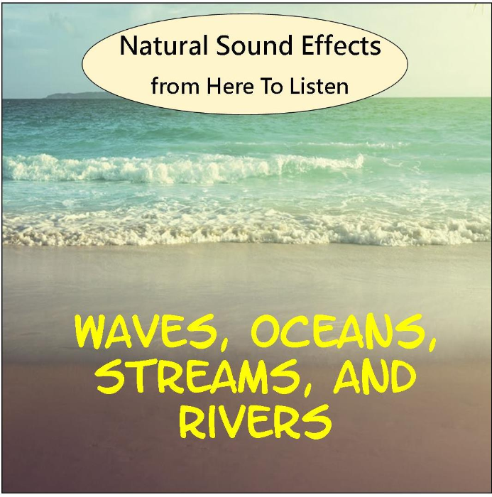 First Additional product image for - Sound Effects Vol.2 Waves, Ocean, stream, River