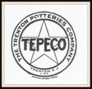 trenton potteries company magazine ads package