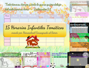 H.C.S - Horarios Tematicos Infantiles | Documents and Forms | Other Forms